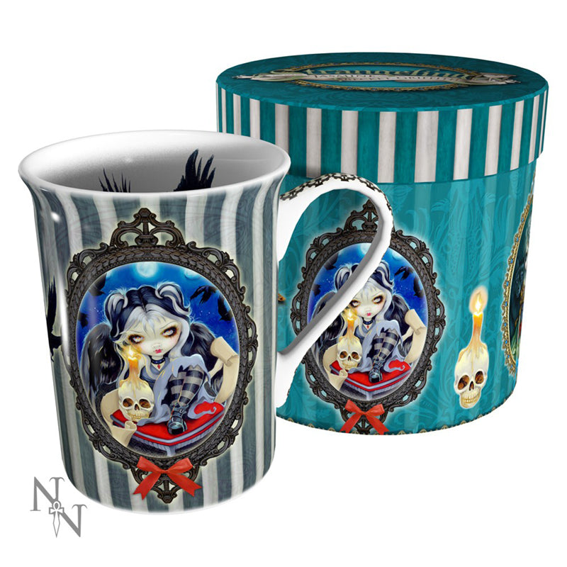 Sign Of Our Parting Mug by Jasmine Becket-Griffith