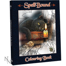 Spellbound Colouring Book by Lisa Parker