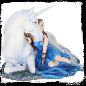 Blue Moon Figurine by Anne Stokes