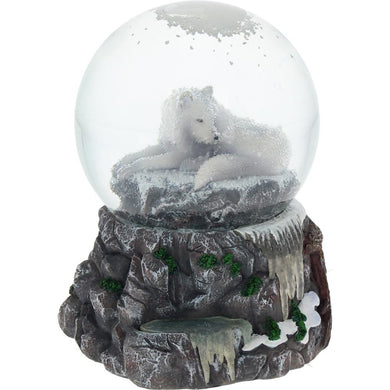 Guardian of the North Snowglobe by Lisa Parker