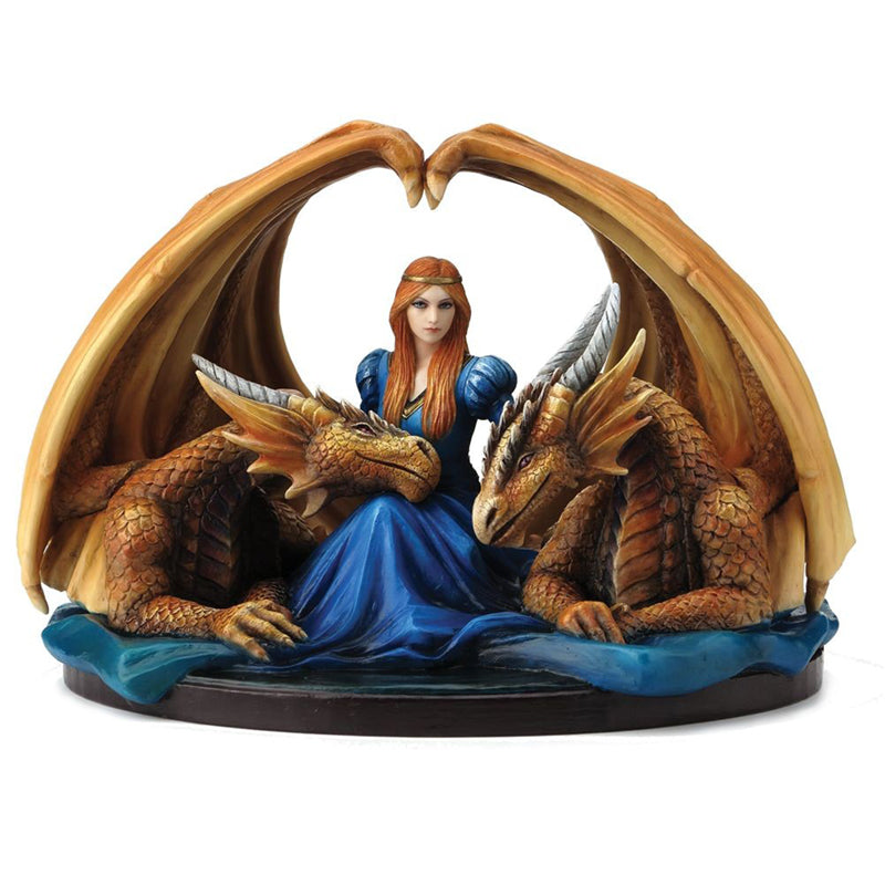 Fierce Loyalty Figurine by Anne Stokes