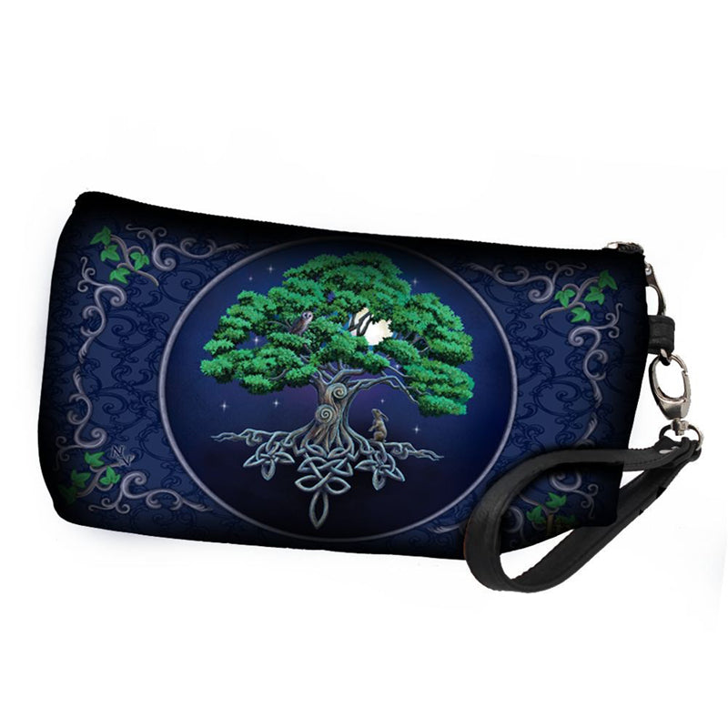 Tree of Life Wash Bag by Lisa Parker