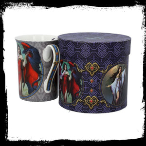 Dragon Mistress Mug Mug BY James Ryman