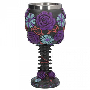 Twilight Blooms Goblet