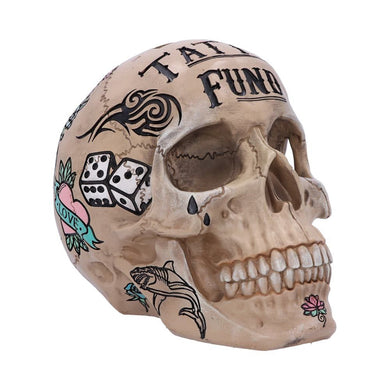 Tattoo Fund Money Box (Bone)