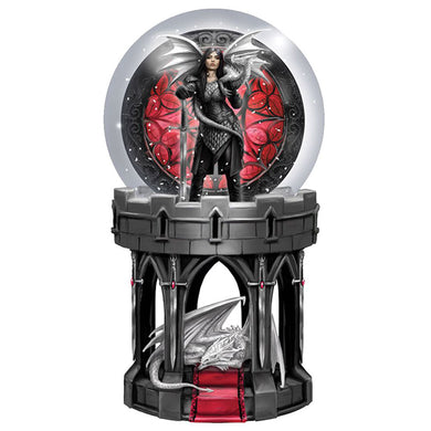 Valour Snowglobe by Anne Stokes - PREORDER