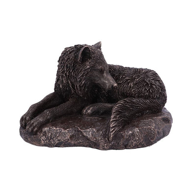 Guardian Of The North Bronze Figurine by Lisa Parker