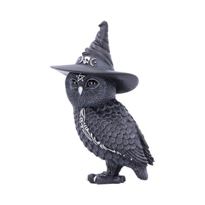 Owlocen Witches Hat Occult Owl Figurine