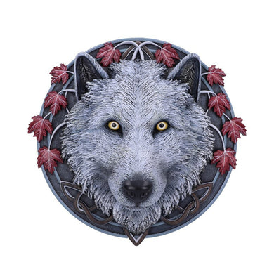Guardian of the Fall Wall Plaque by Lisa Parker