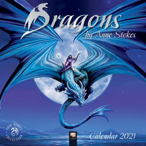Anne Stokes 2021 Dragons Calendar