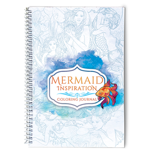 Colouring Journal - Mermaid Inspirational by Selina Fenech