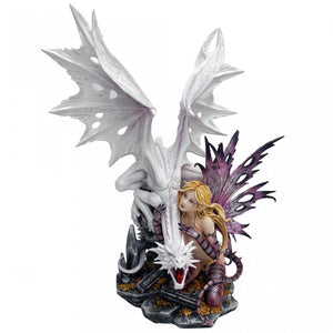 Aarya Dragon Guardian Premium Extra Large Figurine