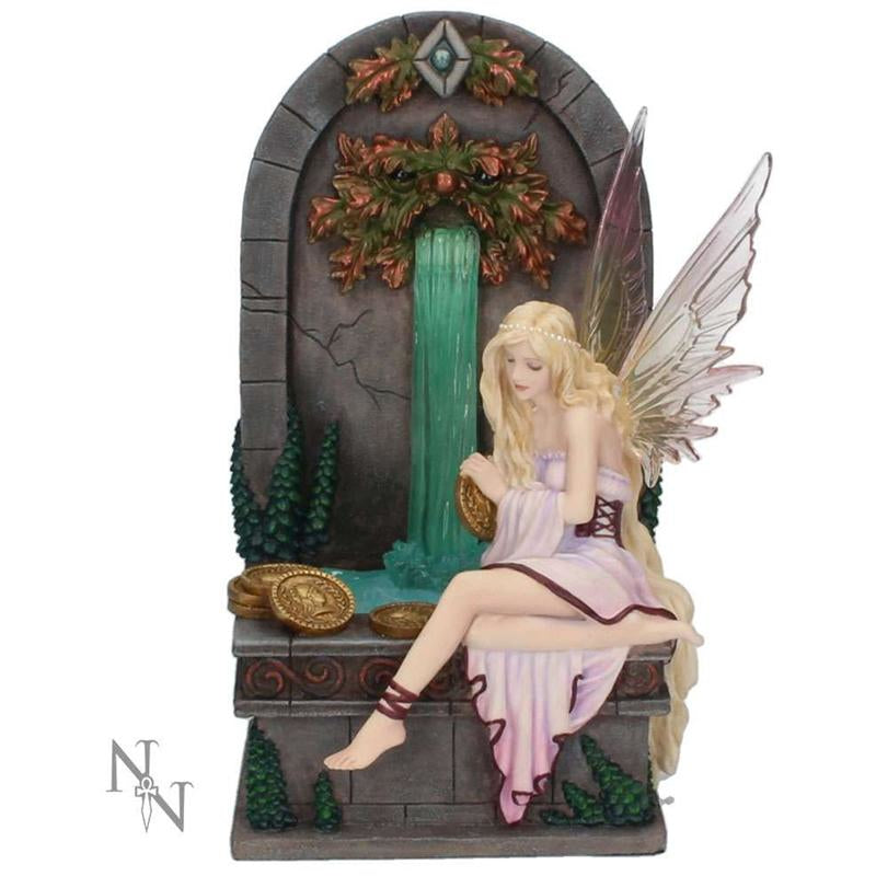 Fairy Wishing Well Figurine by Selina Fenech