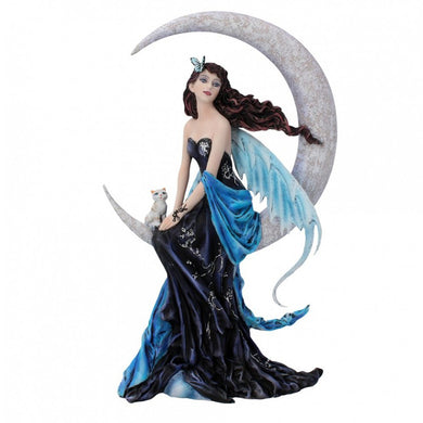 Moon Indigo Figurine by Nene Thomas