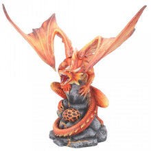 Adult Fire Dragon Figurine by Anne Stokes