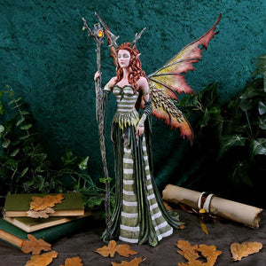 The Green Woman Figurine by Amy Brown