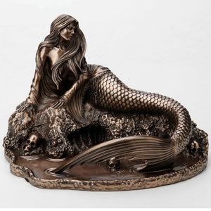 Sirens Lament Bronze Figurine by Anne Stokes