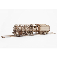UGears 460 Steam Locomotive with Tender