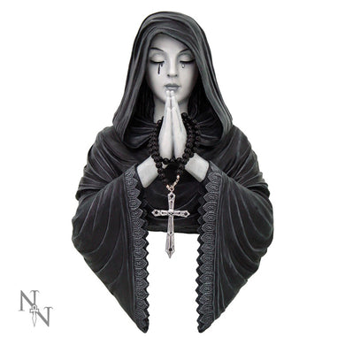 Gothic Prayer Wall Plaque by Anne Stokes
