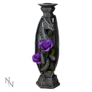 Dragon Beauty Candle Stick Holders by Anne Stokes