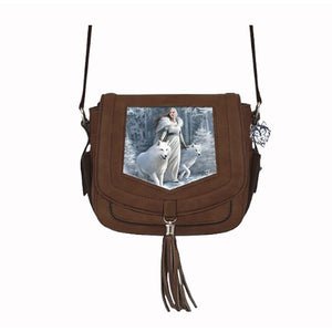 Winter Guardian Side Handbag by Anne Stokes - PREORDER