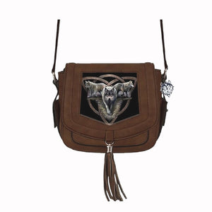 Wolf Trio Side Handbag by Anne Stokes - PREORDER