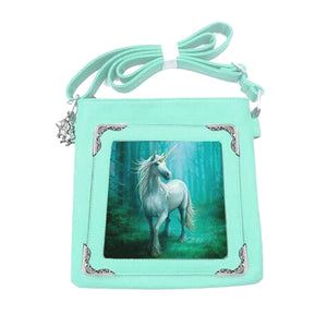 Forest Unicorn Side Bag by Anne Stokes