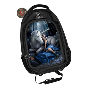 Blue Moon 3D Lenticular Backpack by Anne Stokes