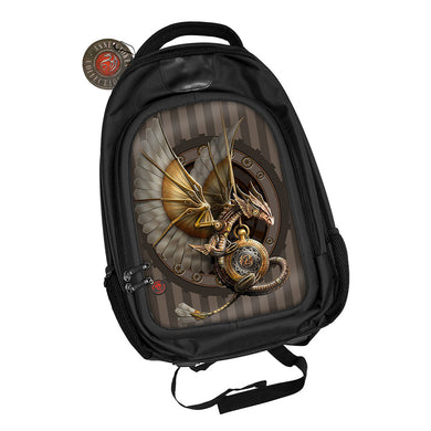Clockwork Dragon 3D Lenticular Backpack by Anne Stokes
