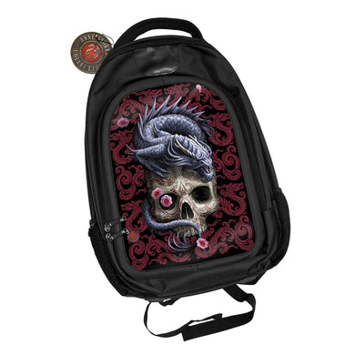 Oriental Dragon 3D Lenticular Backpack by Anne Stokes