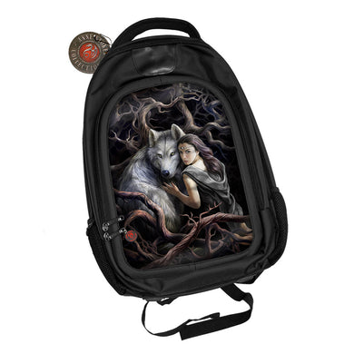 Soul Bond 3D Lenticular Backpack by Anne Stokes