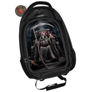 Time Waits 3D Lenticular Backpack by Anne Stokes