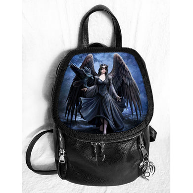 Raven 3D Lenticular Backpack by Anne Stokes