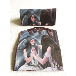 Magic Mirror Glasses Case by Anne Stokes
