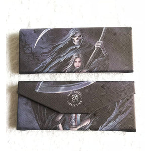 Summon The Reaper Glasses Case by Anne Stokes