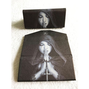 Gothic Prayer Glasses Case by Anne Stokes