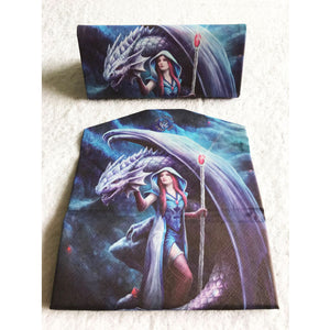 Dragon Mage Glasses Case by Anne Stokes
