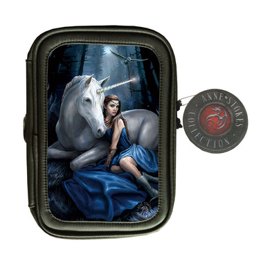 Blue Moon 3D Lenticular Pencil Case by Anne Stokes
