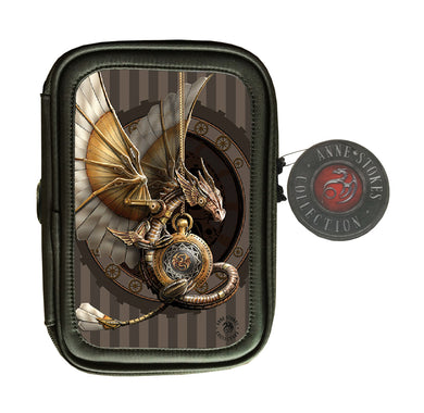 Clockwork Dragon 3D Lenticular Pencil Case by Anne Stokes