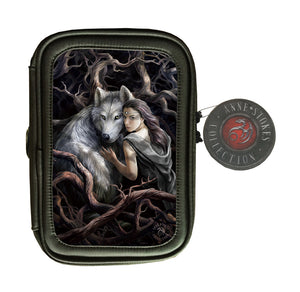 Soul Bond 3D Lenticular Pencil Case by Anne Stokes