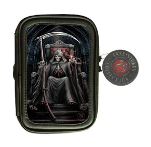 Time Waits 3D Lenticular Pencil Case by Anne Stokes