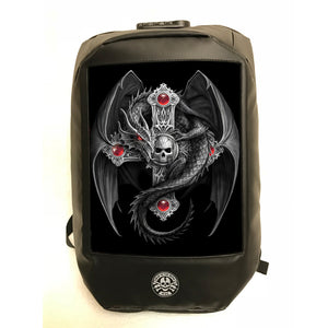 Gothic Guardian 3D Lenticular Backpack by Anne Stokes