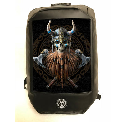 The Viking 3D Lenticular Backpack by Anne Stokes