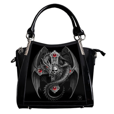 Gothic Guardian 3D Lenticular Handbag by Anne Stokes