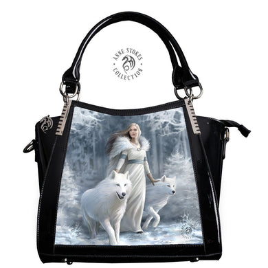 Winter Guardian 3D Lenticular Handbag by Anne Stokes