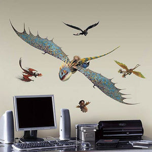 How to Train Your Dragons Wall Stickers