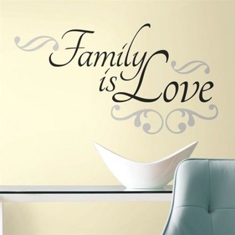 Family is Love Wall Stickers