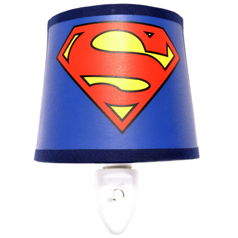 Superman Logo Night Light