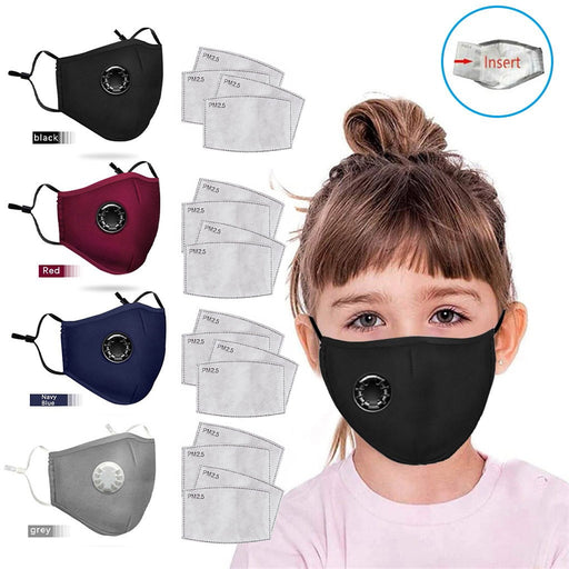 20pcs In Stock Child Kids Cotton Mouth Scarf Reusable Facemasks Fabric Washable Facemasks Washable Reusable Mask For Face 9