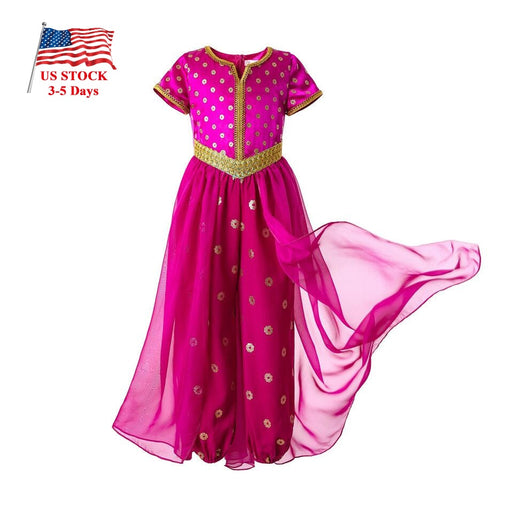 Girls Cosplay Fancy Costume | Halloween Princess Party Dress